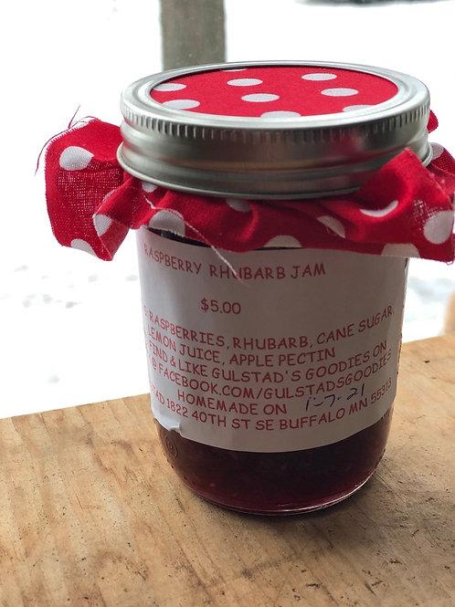 Rasperry Rhubarb Jam