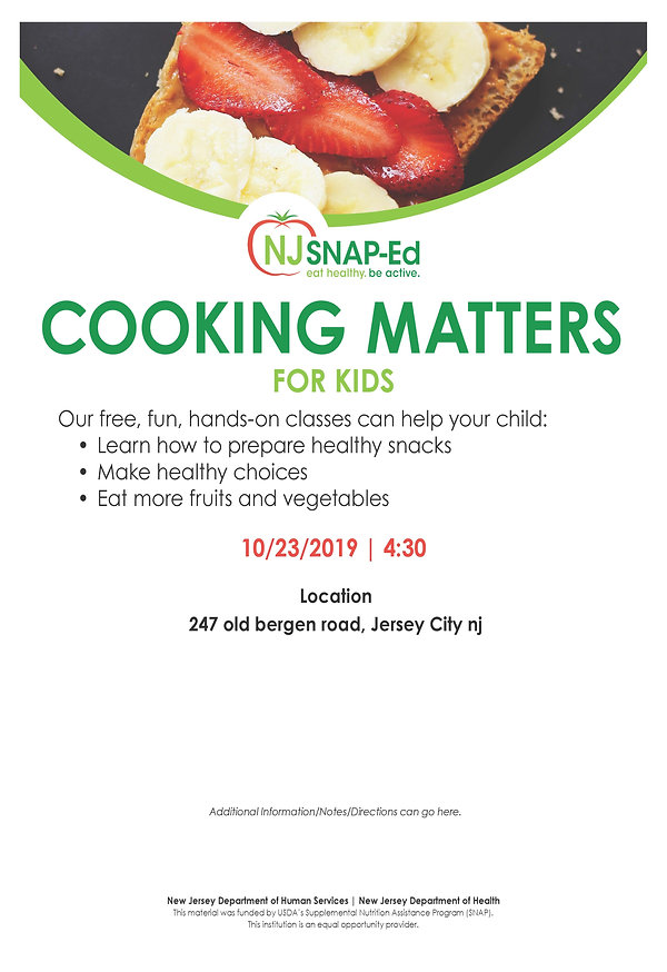 TEMPLATE Cooking Matters - for kids (pea
