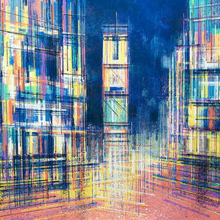 Times Square Illuminated