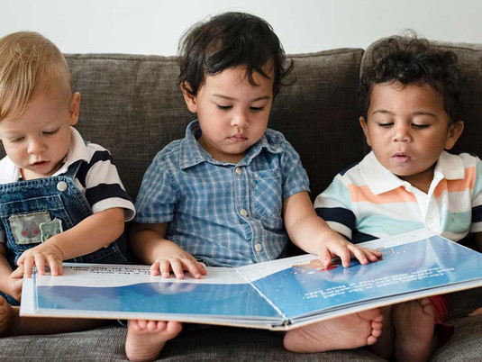 What lies beneath - child development prior to reading.