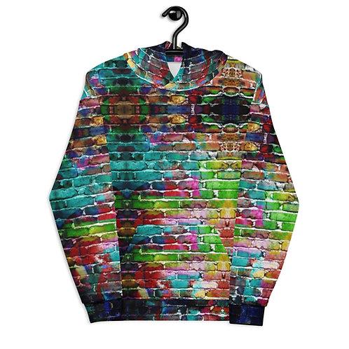 Rainbow Wall - Unisex Hoodie