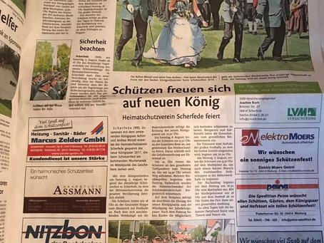 Schützenfest in Scherfede