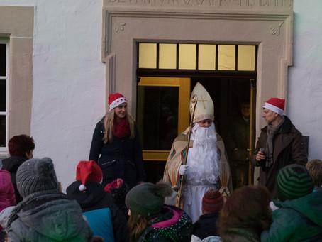 Nikolaus-Verlosung in Scherfede
