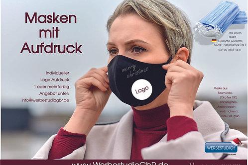 Einzelmaske oder Mund Nasenschutz