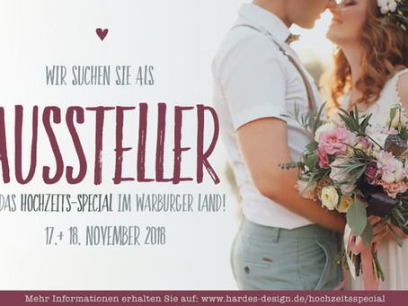Hochzeitsmesse am 03. + 04. November 2018