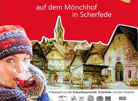 Scherfeder Weihnachtsmarkt wieder auf dem Mönchhof