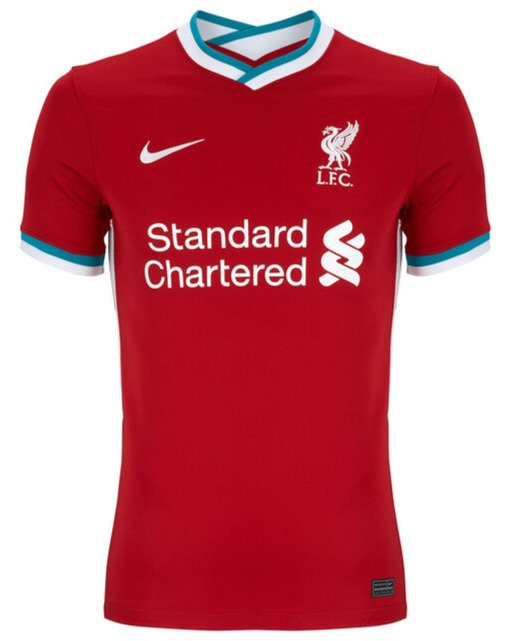 Camisa Nike Liverpool Home 2020 2021 Fut Importados