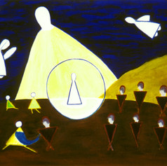 """""""'And They All Forsook Him and Fled'  (Mark 14:50):  A Study in Triangles"""""""