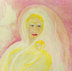 """""""The Etheric Madonna: the King Is Born"""""""