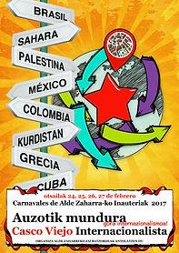 Cartel Carnaval Casco Viejo 2017