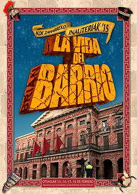 Cartel Carnaval Casco Viejo 2015