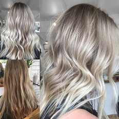 Lightened up the beautiful Renaye's  hair today 😍 was so nice to see you xx