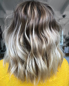 Sometimes you have clients who's hair is so cooperative and just a dream to colour- this is one of them! Actually always a pleasure Jacqui x