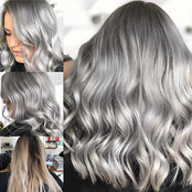 Had one of those go big or go home days today! Ellyse wanted a change so silver fox it is 🖤🖤🖤 impressed myself alittle with this one 😎