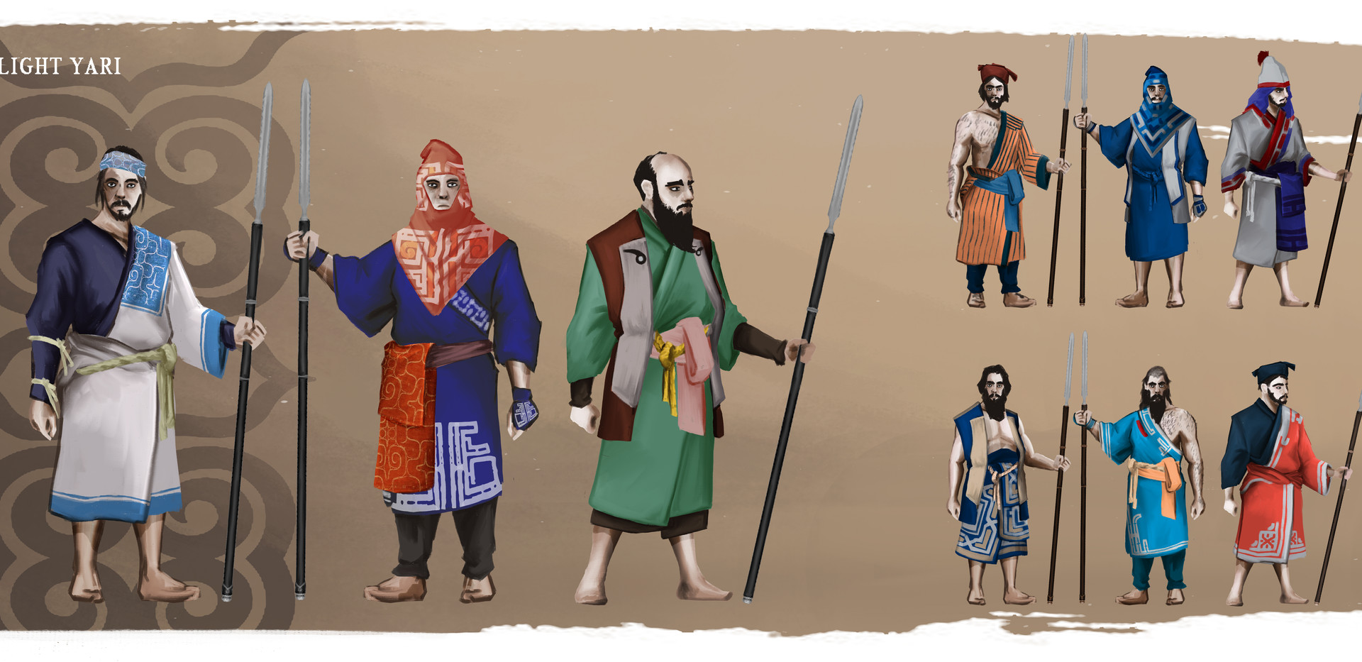 AINU Light Spearmen