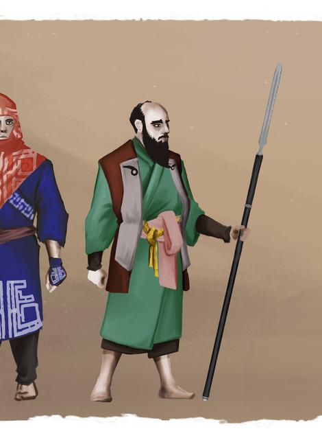 AINU Light Spearmen
