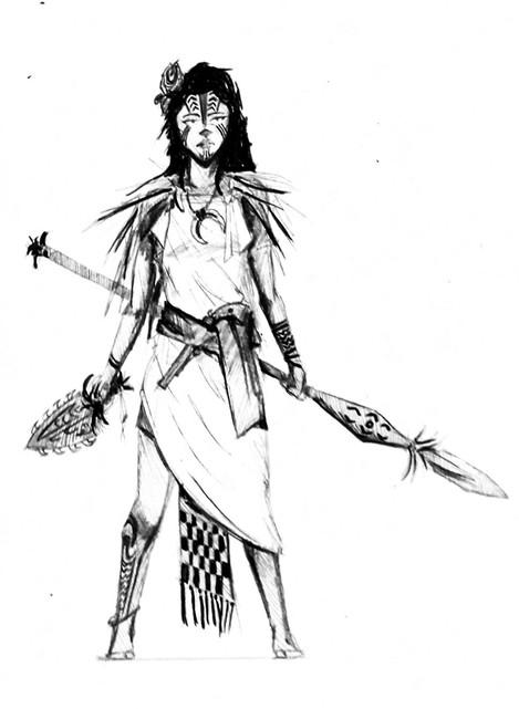 Hawaiian Warrioress