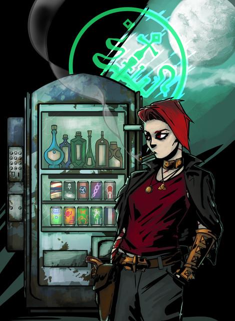 'vending machine'