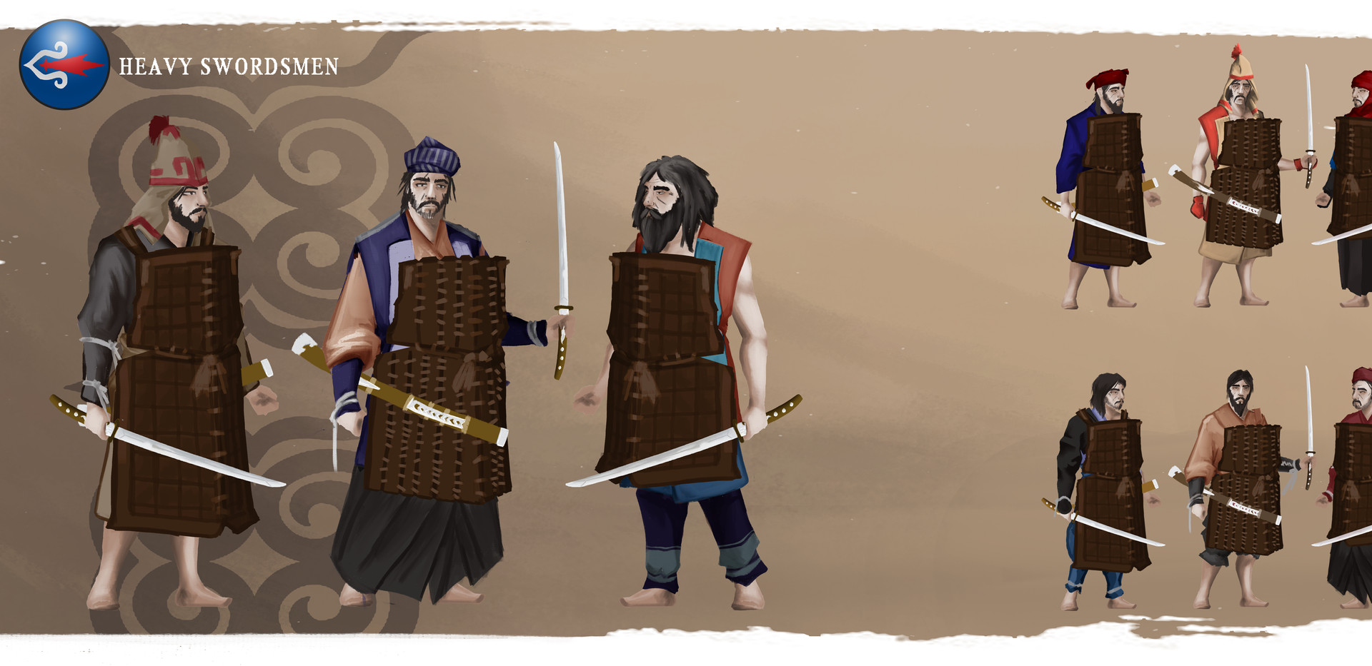 AINU Heavy Swordsmen