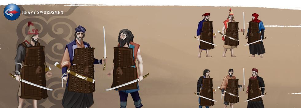 AINU Heavy Swordsmen