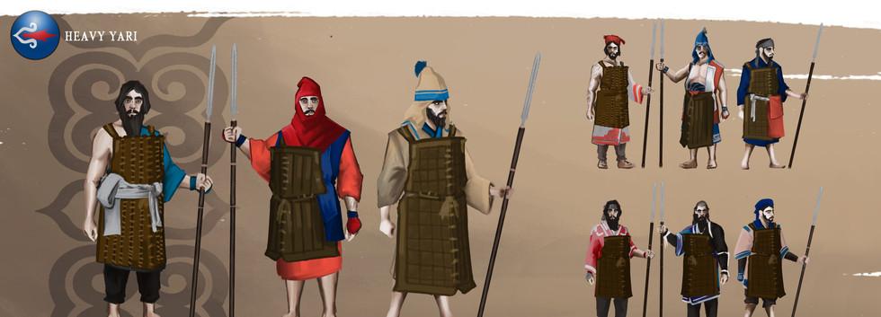 AINU Heavy Spearmen