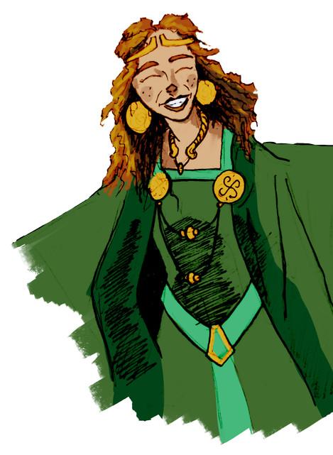Gretta the Green