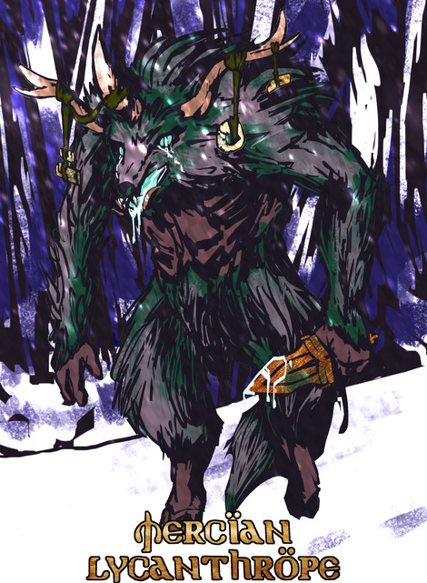 Mercian Lycanthrope