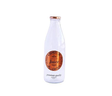 Botella Vidrio con Tapa