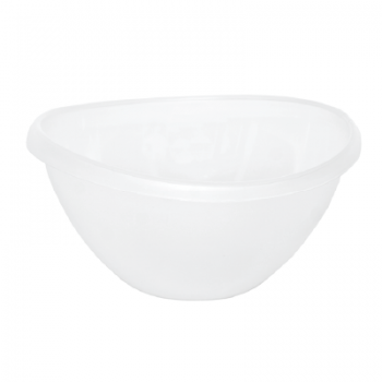 Súper Bowl Traslúcido Blanco