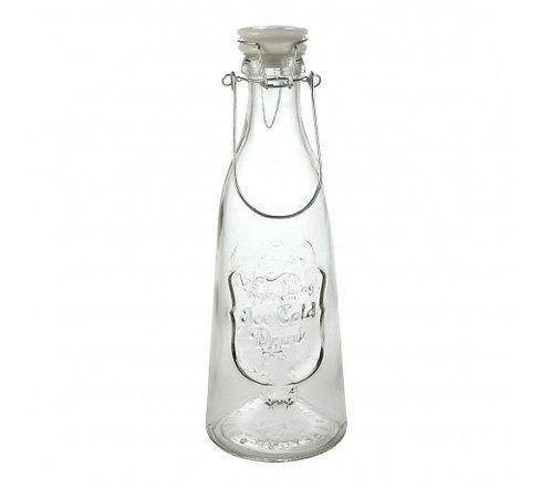 Botella con Tapa Porcelana