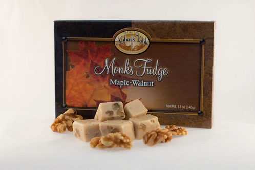 Monk's Maple Walnut Fudge 12 oz.