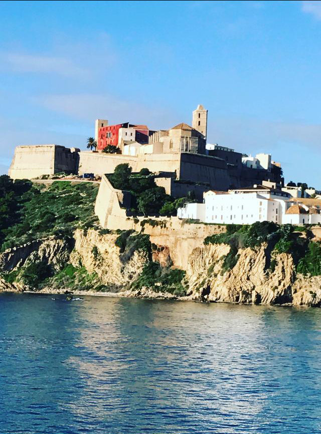 The old down of Ibiza is worth a visit