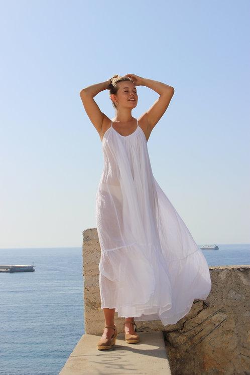 Aparna white dream dress