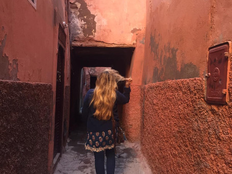 Marrakesh ,I felt totally in love with you