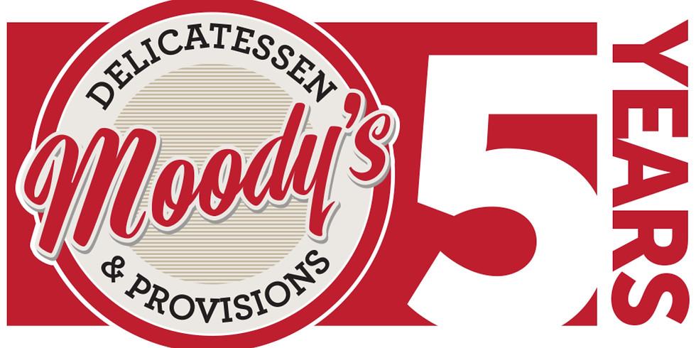 Moody's 5 Year Celebration