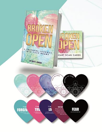 BROKEN OPEN & HEART SCAN CARDS