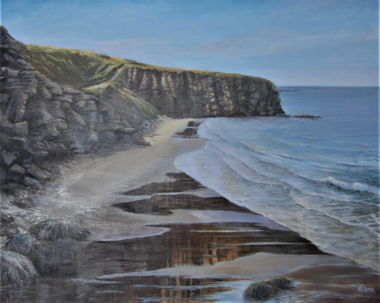 Primrose Bay, Oil on Canvas, 750mmx570mm