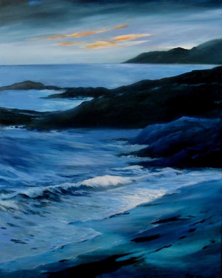 Evening Light, Oil on Canvas, 1015mmx765mm