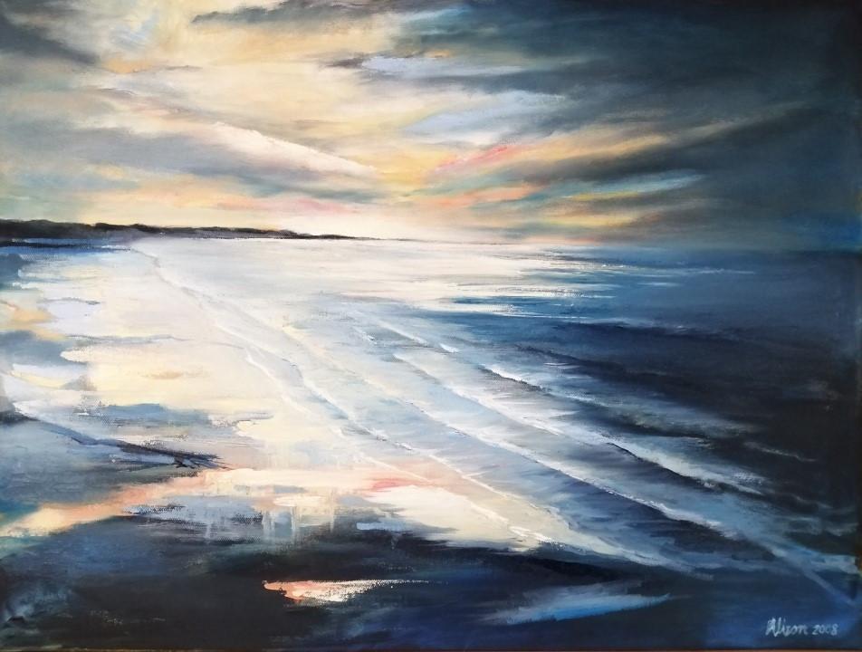 Dusk, Oil On Canvas, 600mmx450mm
