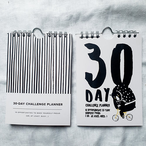 Set of two  | 30-days Challenge Planners