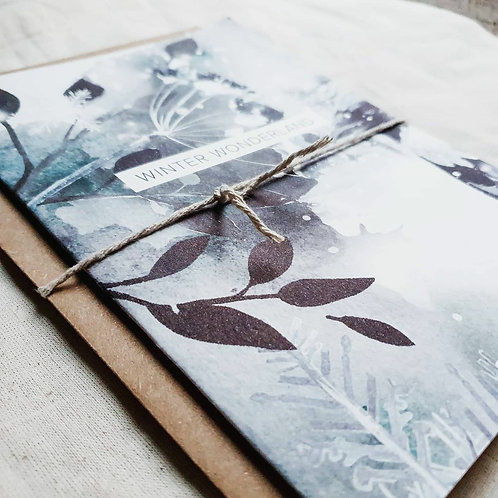 The Winter Wonderland 01 | Greeting Card with Envelope