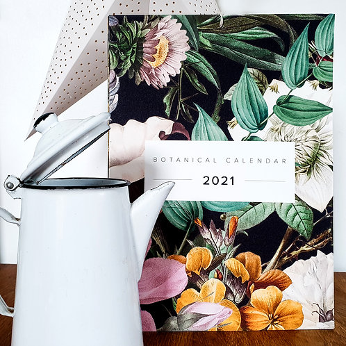 The Secret Garden   2021 Botanical Calendar