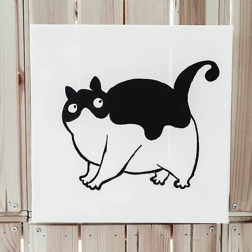 Fat Cat 01 | Little Black Art