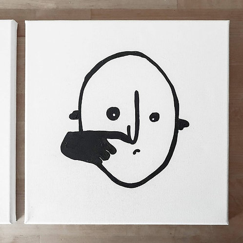 Head 02 | Little Black Art