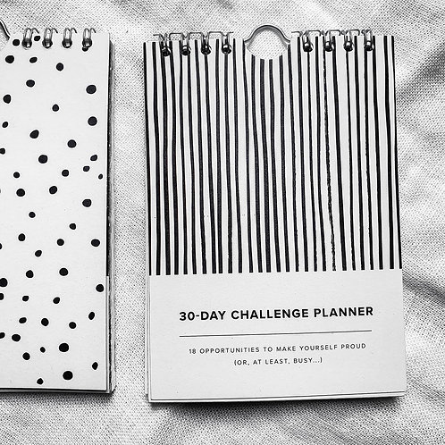 Abstract  | 30-days Challenge Planner