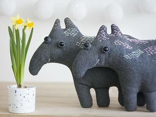 Tapir Teddy   Little Flat Friend