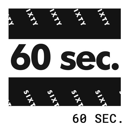 60 sec. animation