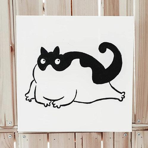 Fat Cat 03 | Little Black Art