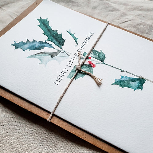LITTLE CHRISTMAS   Greeting Card with Envelope