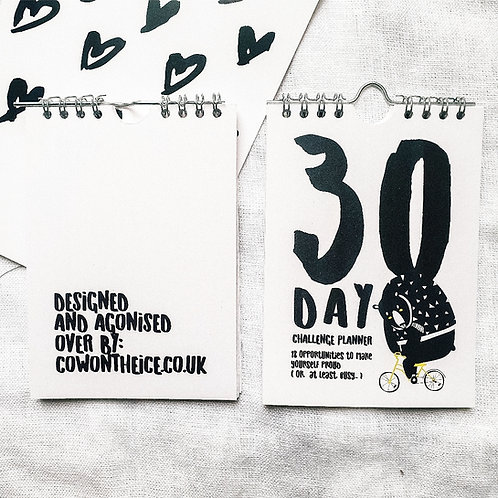 The Great Outdoors  | 30-days Challenge Planner